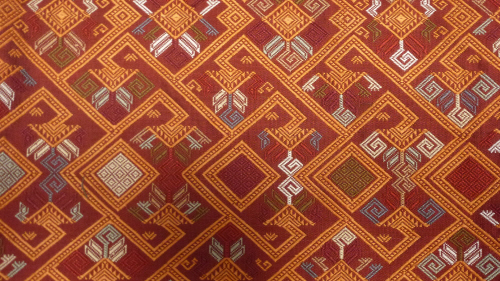 One of the more intricate woven patterns.