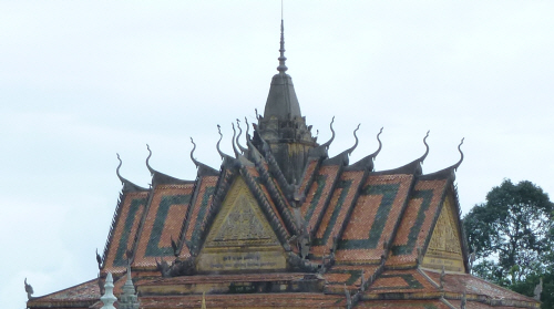 Gloriously pointy rooflines;
