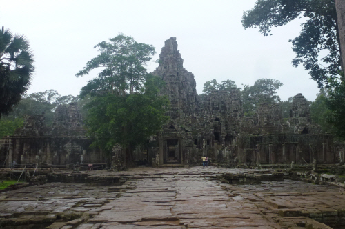 The extraordinary, magical, Bayon temple.