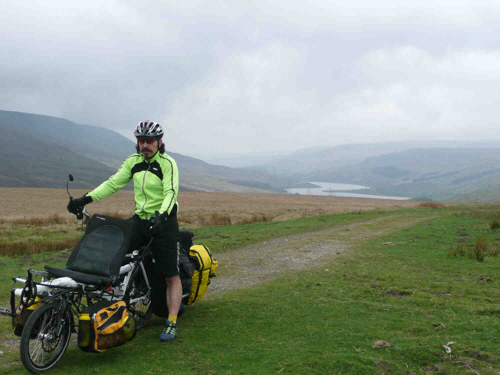 Hard work over the Yorkshire Dales.