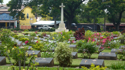 Allied Servicemen remembered in the Kanchanaburi War Cemetery (which is maintained by the Commonwealth War Graves Commission)